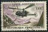 miniature FRANCE 1955 OBLITERE Poste aérienne N° 37