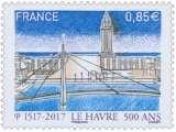 miniature FRANCE 2017 : yt 5166 **/mnh # Le Havre