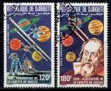 miniature DJIBOUTI - A213/214° - 375è ANNIVERSAIRE DE LA LUNETTE DE GALILEE