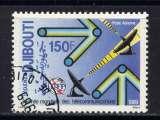 miniature DJIBOUTI - A246° - JOURNÉE MONDIALE DES TELECOMMUNICATIONS