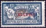 miniature Algérie - 1924-25 -  Y&T n° 33 - Neuf * - Type Merson surchargé