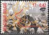 miniature Belgique 2000 COB 2946 Neuf ** Cote (2016) 1.00 Euro Conférence de Yalta