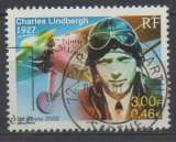 France 2000 - y & t : 3316 - Aviation : Charles Lindbergh