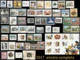 miniature 2017 annata : Tenco STAMPA Bacalà Polizia Osservatorio AURICCHIO Roma Turistica Topolino Totò