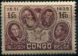 CONGO BELGE  _  Y & T  :    N°  187  *   Cote  :  1,25  €