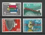 miniature Suisse - 1957 - Série de Propagande - Tp n° 586 / 89 - Neufs **
