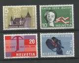 miniature Suisse - 1958 - Série de Propagande - Tp n° 602 / 5 - Neufs **