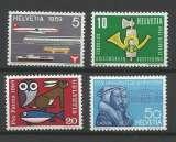 miniature Suisse - 1959 - Série de Propagande - Tp n° 621 / 24 - Neufs **