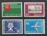 miniature Suisse - 1960 - Série de Propagande - Tp n° 639 / 42 - Neufs **