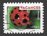 miniature France - Autoadhésif Y&T 318 (o)  Vacances - année 2009