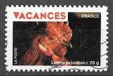 miniature France - Autoadhésif Y&T 321 (o)  Vacances - année 2009