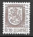 miniature Finlande - Y&T 726 (o) Armoiries - année 1975