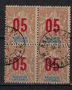 miniature MADAGASCAR        N°  113 x 4            OBLITERE     ( o 02/04  )