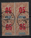 miniature MADAGASCAR        N°  113 x 4       ( 4 )      OBLITERE     ( o 02/04  )