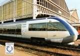 miniature BALIZIAUX 00162 - Maquette  de l'autorail  X 73500 en gare - TOURS - Indre et Loire 37 - SNCF