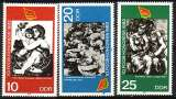 miniature RDA 1982  Y&T  2347-2349  N**