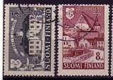 miniature Finlande 1946  Y&T  317-318  oblitérés