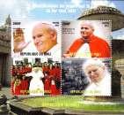 miniature Mali 2011 Bf Béatification de Jean-Paul II