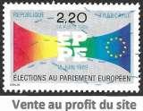 France 1989 Y&T 2572 oblitéré - Elections au Parlement européen