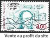 France 1989 Y&T 2610 oblitéré - Augustin Cauchy
