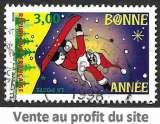 France 1998 Y&T 3200 oblitéré - Meilleurs voeux