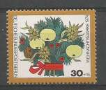 miniature Berlin 1974 445 ** Noël Fleurs