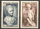 miniature France 1950 n° 876-877 ** MNH Cote=6,10