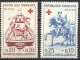 miniature France 1960 n° 1278-1279 ** MNH Cote=8,00
