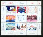 miniature Monaco 2240 2247 2000 la mer feuillet neufs TB** MNH SIN CHARNELA  faciale 8