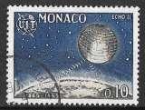 Monaco - Y&T 665 (o) - Emblême de l' U.I.T écho II - année 1965