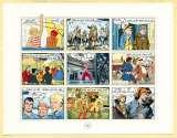 miniature Feuillet Franc - Euro par 9 dessinateurs à l'occasion de la mise en circulation de l'Euro