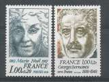 miniature France 1978 1986-87 ** Marie Noël Georges Bernanos