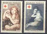 miniature France 1954 n° 1006-1007 ** MNH Cote=30,00