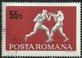 miniature Roumanie 1969 - 2449 oblitéré.
