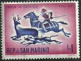miniature Saint Marin - San Marino 1961 - Chasse à courre - 510 neuf **