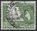 Kenia & Ouganda 1954-58 Y&T 98 oblitéré - Elisabeth II