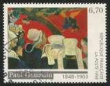 miniature France - 1998 - Y&T n° 3207 - Obl. - Vision après le sermon - Paul Gauguin (1848-1903)