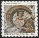 miniature France - 1999 - Y&T n° 3224 - Obl. - L'enlèvement d'Europe - Mosaïque - Patrimoine du Liban
