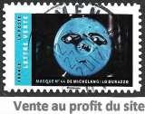 France Adhésifs 2017 Y&T 1409 oblitéré - Masque 44