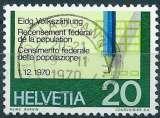 miniature Suisse 1970 - Recensement de la population ( Mi 930 - YT 865 )