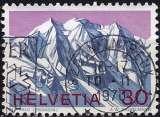 miniature Suisse 1970 - Les Alpes : Le mont Palu ( Mi 931 - YT 866 )