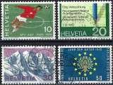 miniature Suisse 1970 - Timbres de propagande ( Mi 929/32 - YT 864/67 ) série complète
