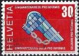 miniature Suisse 1970 - Pro-infirmis 50 ans ( Mi 920 - YT 851 )