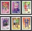 miniature NOUVELLE ZELANDE 1995 N° 1364 à 1369 Neufs Réf. 9945