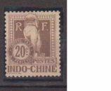 INDOCHINE     N°    TAXE 10    NEUF SANS GOMME