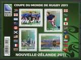 FRANCE 2011 NEUF** MNH N° 4576 à 4579 Coupe du monde de rugby