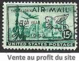 miniature Etats-Unis P.A. 1947 Y&T 37 oblitéré - Vue de New York