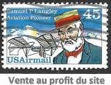miniature Etats-Unis P.A. 1988 Y&T 112 oblitéré - Hommage à Samuel P. Langley