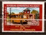 miniature Madagascar 1977 YT 616 Obl Poste automobile rurale