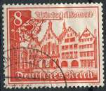 ALLEMAGNE REICH 1939 OBLITERE N° 658